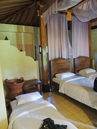 Rumah Dharma: Our room