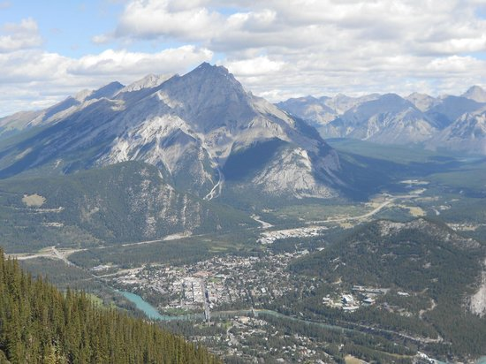 Banff Gondola: View from the top