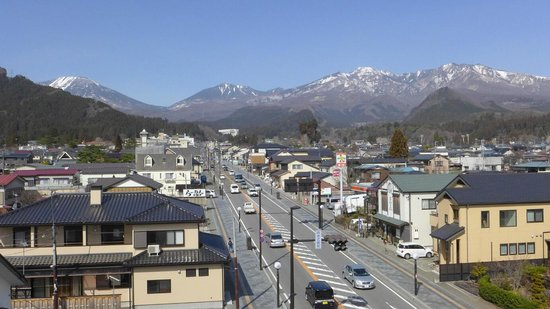 Hotel Viva Nikko: View from the fourth floor room