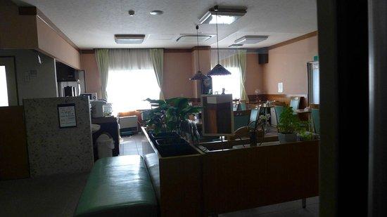 Hotel Viva Nikko: Reception and breakfast