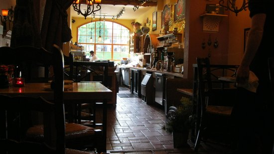 Pavz Creperie: The Kitchen and Dining Area