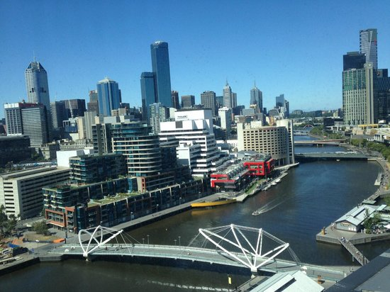 Pan Pacific Melbourne: View from King Hilton Room