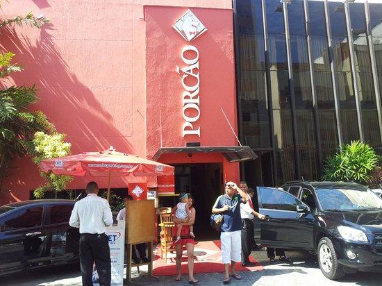 Porcão Ipanema : Entrance