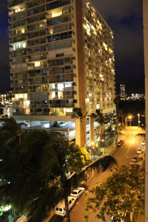Pearl Hotel Waikiki: View out from the Balcony (2)