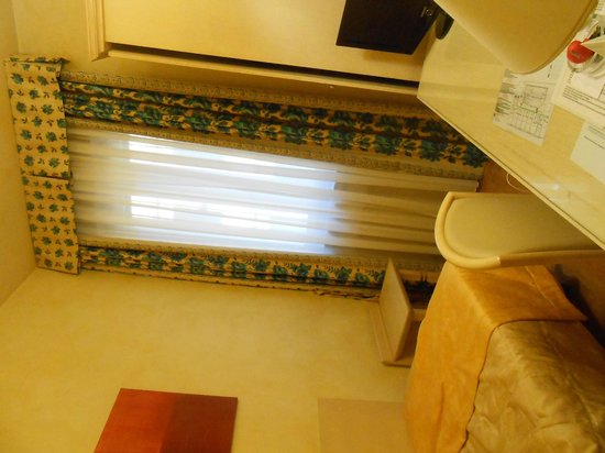 Hotel Alba Palace : 出発前の室内