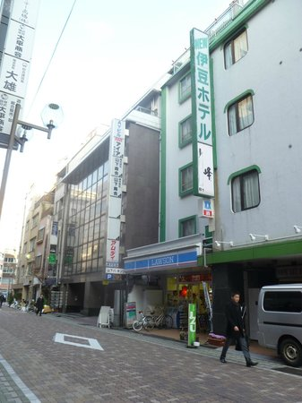 Ueno New Izu Hotel : Street view of Hotel