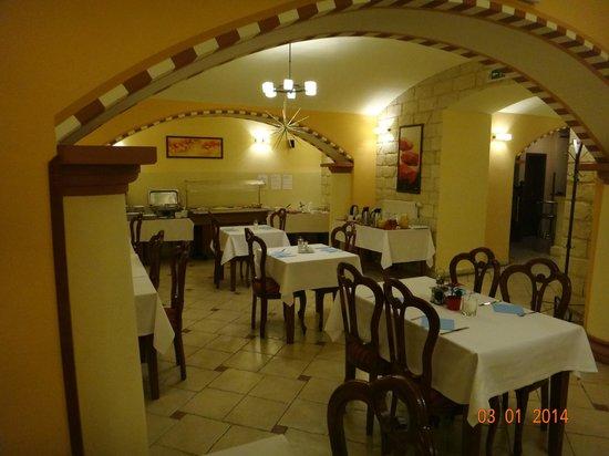 Arkada Hotel Praha: Комната для завтраков