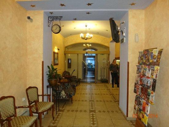 Arkada Hotel Praha: Холл отеля