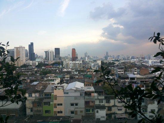 Bangkok City Hotel: view from balcony