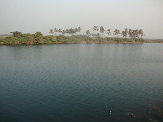 view from gita mandir