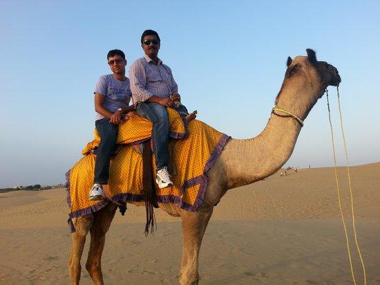 Royal Desert Camp Jaisalmer: Camel Ride on Sam Sand Dunes.