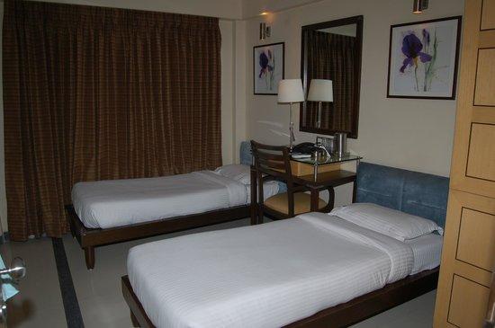 Sapna Marine: Twin Bed Room