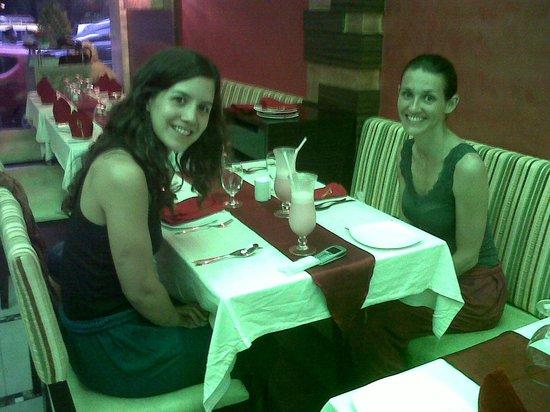 Sapna Marine: Dining area