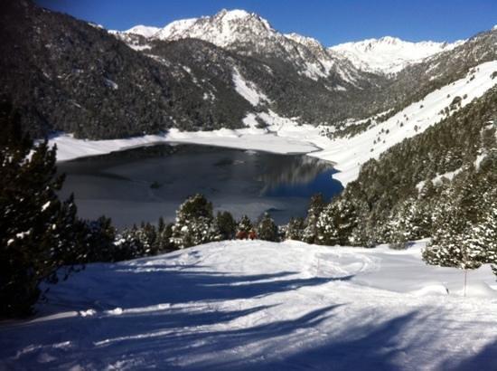 Station de ski - Saint Lary Soulan : the lake