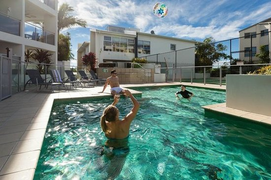 Coolum Seaside Resort: Relax with the fam in one of our three pools.