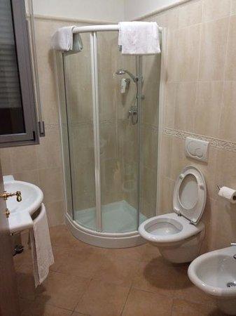 Hotel Sovrana : Ванная