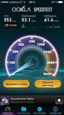 Hotel Sovrana: WiFi в отеле Sovrana