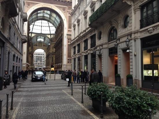 Park Hyatt Milan: excelente localização