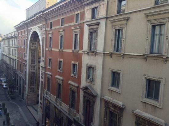 Park Hyatt Milan: vista de uma das janelas do quarto