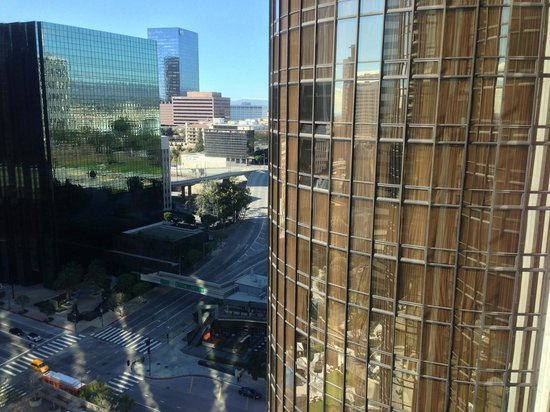 The Westin Bonaventure Hotel & Suites : View From Elevator