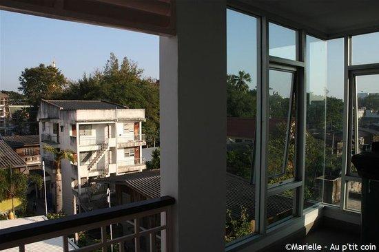 Puri Piman: vu de la chambre