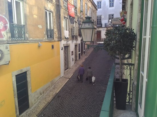 Lisbon Colours: view from the balcony