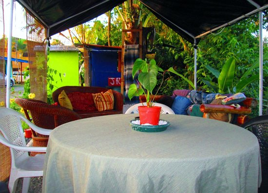 Hostel Vista Serena: view from deck EPIC
