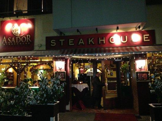 Steakhouse ASADOR: Ingresso