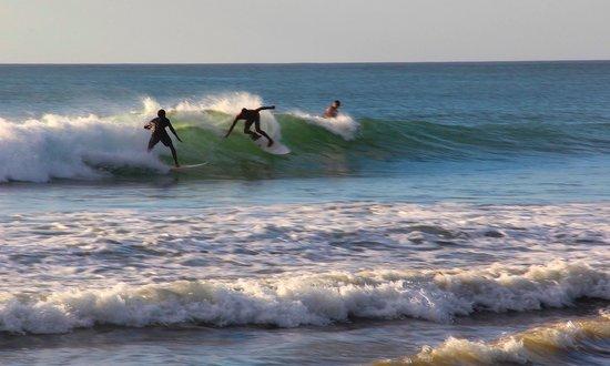 Hotel Playa Negra: Surfing at El Palo
