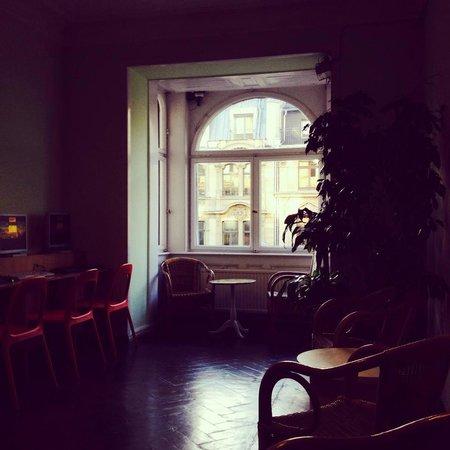 Frankfurt Hostel: Sala internet