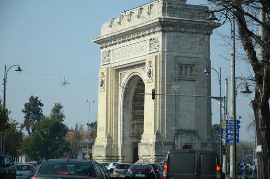 Triumph Arch: Triumphbogen in Bukarest