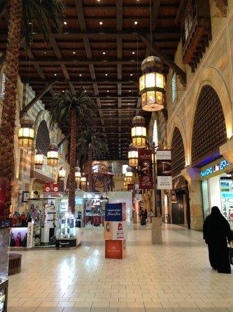 Movenpick Hotel Ibn Battuta Gate Dubai : Le mall en face