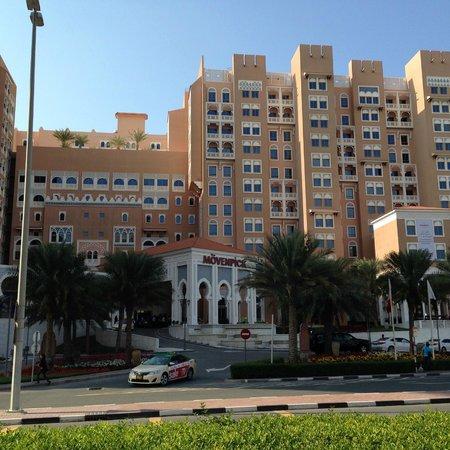 Movenpick Ibn Battuta Gate Hotel Dubai : L'entrée principale