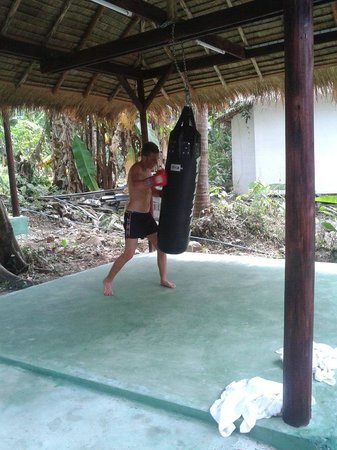 BB Gym: thai kickboxing in the garden