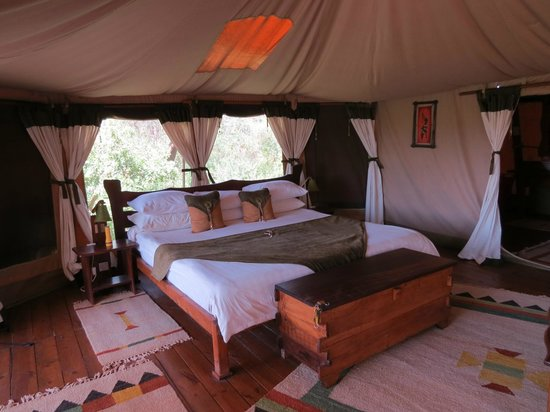 King Size Bed Picture Of Elephant Bedroom Camp Samburu National Reserve Tripadvisor