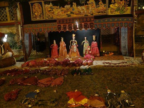 Mansingh Palace, Agra : Program at Hotel Garden