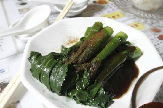 Wing Wah Noodle Shop: 野菜(エビ卵)
