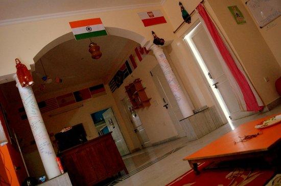 Zostel Jaipur: Common room