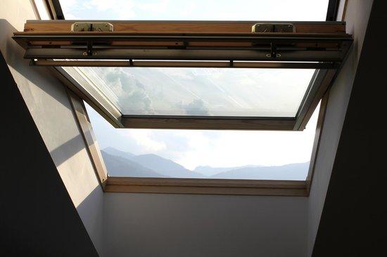 Gasthof Bürglstein: окно на крыше