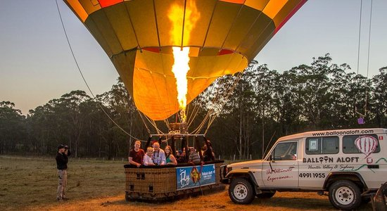 Balloon Aloft Hunter Valley Day Tours: Ready for take off!