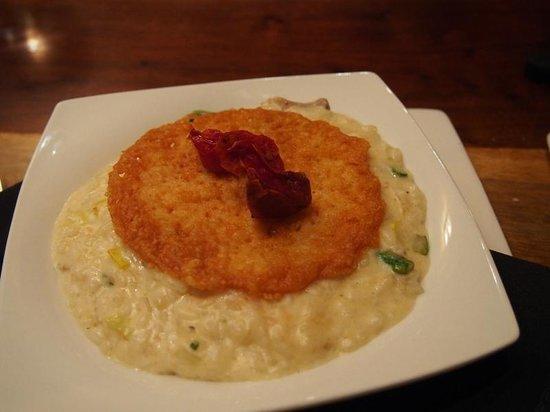 Wort Hotel Silver Dollar Bar & Grill: Wild mushrooms risotto