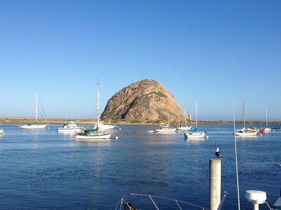 Morro Rock: Скала Морро утром