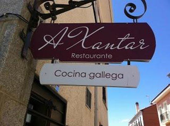Collado Mediano, Spain: Restaurante A Xantar