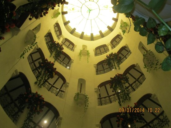 Amrutha Castle : View of top from ground floor