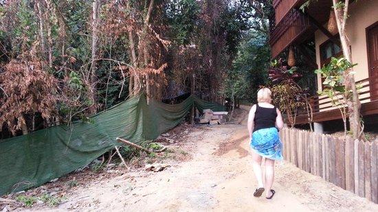 Viking Natures Resort: Zugang zu unserer Unterkunft