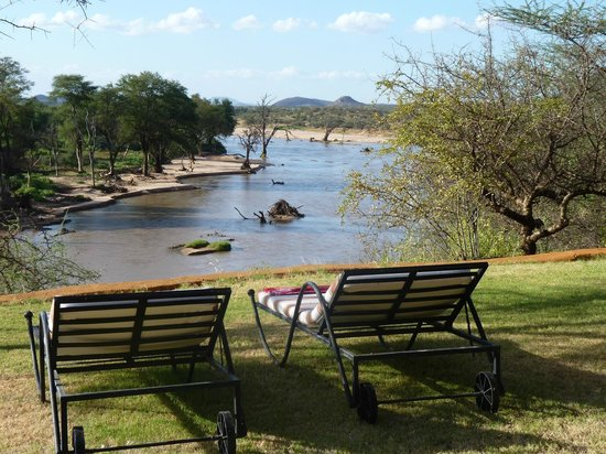 Sasaab Lodge: view from our room up high