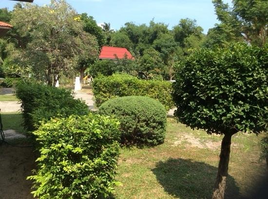 Ban Tai River Gardens Resort: Gardens