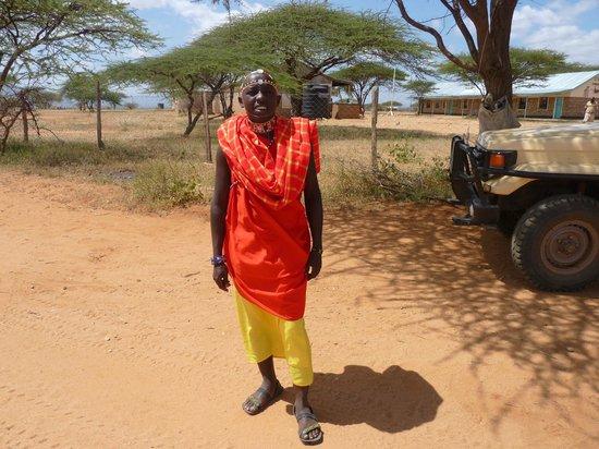 Sasaab Lodge : Erik our Masai spotter