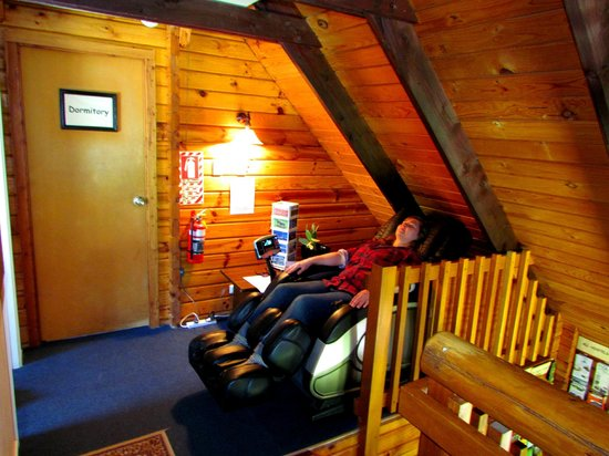 Hanmer Backpackers: The Massage Chair