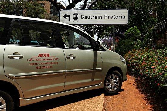 Arcadia Hotel : Gautrain Transfers